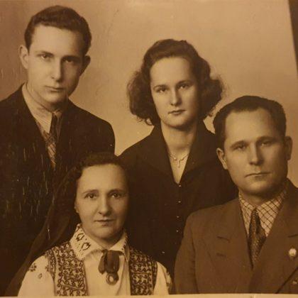 Gerdas un Jāzepa laulības 20. gada diena (24.12.1955)